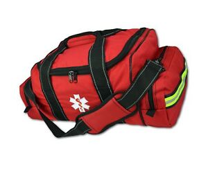 Lightning X Large Emt Medic First Responder Ems Trauma Jump Bag W Dividers Red