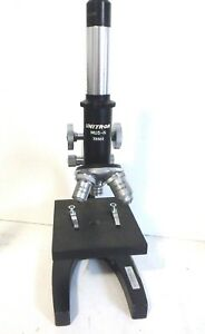 Unitron Mus n Student Microscope With 3 Objective No 72320