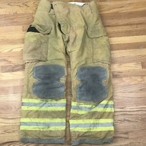 Lion Janesville Firefighter Turnout Gear Bunker Turnout Pants W Liner 36 X 30