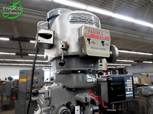 Bridgeport Series I 2hp Vertical Mill