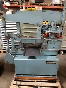 Scotchman 4014tm 40 Ton Ironworker With Turret Punch And Tooling