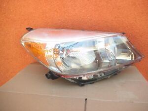 2012 2014 Toyota Yaris Right Side Rh Headlight Halogen Hatchback Chrome Oem