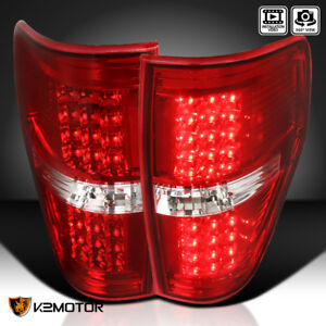 2009 2014 Ford F150 F 150 Pickup Rear Brake Lamps Led Tail Lights Left Right