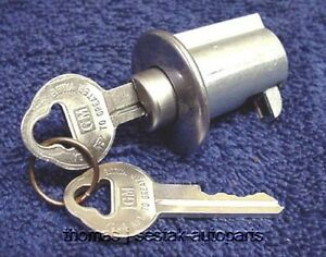 New Glove Box Lock With Gm Keys Chevrolet Chevy Impala Full Size 1963