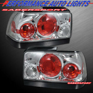 Set Of Pair Chrome Altezza Style Taillights For 1993 1997 Toyota Corolla