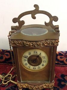 Fine French Bronze Carriage Clock