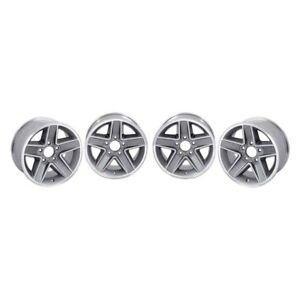 Chevy Camaro 1967 2002 R 15 N90 Style Silver Alloy Wheel Set