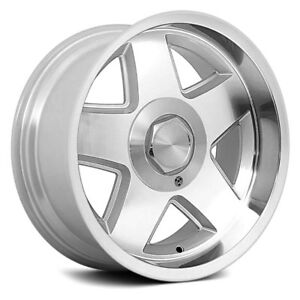 Chevy Camaro 1982 2002 R 17 5 Spokes Silver Alloy Wheel Set
