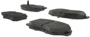 Disc Brake Pad Set Fits 2002 2018 Honda Accord Element Civic Centric Parts