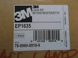 3m Lamp Kit Ep1635 8670 8745 8755 8770 Projector Lamp Bulb