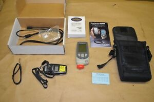 Positector 6000 Metal Coating Thickness Gauge W Case Manual Ir Thermometer