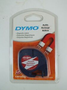 New Dym19435 1 Dymo Letratag Magnetic Label Tape Cassette Refill