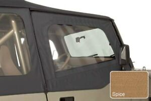For Jeep Wrangler 1988 1995 Rugged Ridge 13716 37 Spice Upper Soft Door Skins