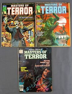 Stan Lee Master of Terror #1 July #2 September 1975 Marvel Preview #16 Fall 1978 $35.60