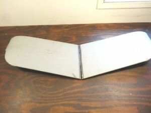 Pair Exterior Sunvisor Panels Only Chevy Ford Mopar Fulton Rat Rod V262
