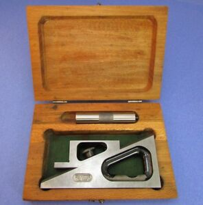 Starrett 599 Planer And Shaper Gage In Original Case No Owners Marks Machinist