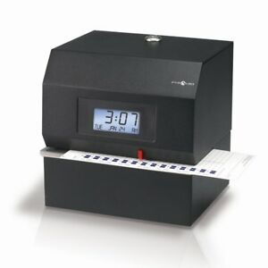 Pyramid 3700 Heavy Duty Time Clock And Document Stamp