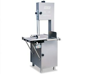 Heavy Duty New Butcher Meat Band Saw Heavy 3 Hp 220 Volt 3 Phase Electric