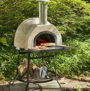 Rustic Natural Cedar Furniture Rustic Wood Fired Oven Plain Front
