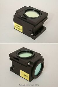 Nikon C 12502 Spec 430dcxr Fluorescence Filter Cube For Eclipse Microscopes