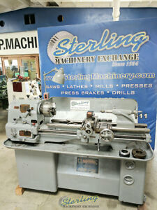 13 18 X 36 Used Clausing Colchester Geared Head Removable Gap Bed Lathe 645 A
