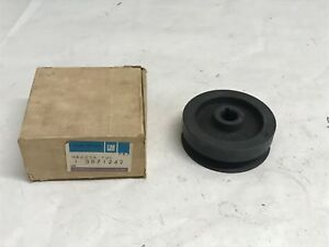 Nos Gm 1963 1971 Corvette Cast Iron Alternator Pulley Fuel Injection High Perf