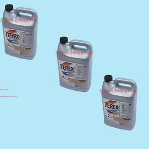 3 Gallons Engine Coolant Antifreeze Zxel1 Zerex Dex cool Orange Fits Land Rover
