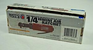 Matco Tools 1 4 Drive Mini Palm Pneumatic Air Ratchet Mt2834a Fully Tested