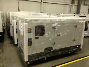 New Hipower Hyw45 T6 Diesel Generator Set 40kw 277 480v 1800 Rpm