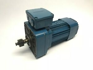 Mannesmann Dematic Kdf 63 A 8 2 Electric Motor And Gear Reducer Demag 460v