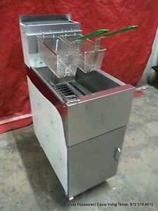 New Dean Gas Deep Fryer 40 Lbs Capacity