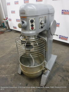 Hobart Donut Dough Mixer 60 Quart With Bowl Hook Model H 600t