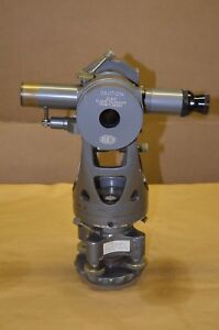 Brunson Precision Transit Theodolite Surveying Telescope Model 75 Bruning Stand