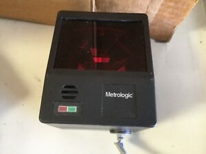 Metrologic Cubit Is6520 Rs 232 Omnidirectional Barcode Scanner