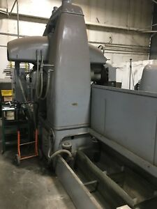 Used Mattison 24 X 96 Horizontal Spindle Surface Grinder Works W 2 Mag Chu