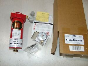 New Rti Stealth 60 Cfm Air Compressor Compressed Air Filter Regulator