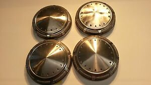 Set Of Four 1969 Plymouth Poverty Dog Dish Hubcaps