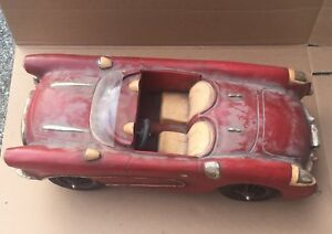 Vintage Large Decorative 1957 Corvette Model Car