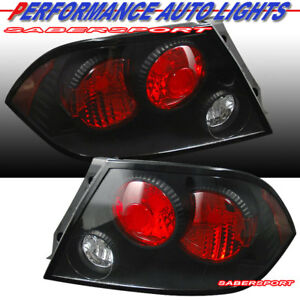Set Of Pair Black Altezza Style Taillights For 2002 2003 Mitsubishi Lancer