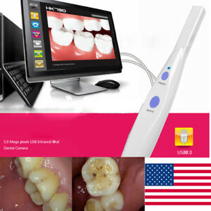 Usa Fast Dental 5 0 Mp Usb Intraoral Oral Camera 6 Led Light Hk790 Software