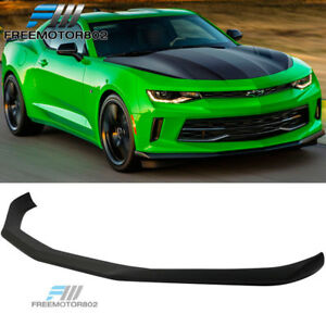 Fit 16 18 Chevy Camaro Lt V6 Convertible Coupe Oe Factory Front Bumper Lip Abs