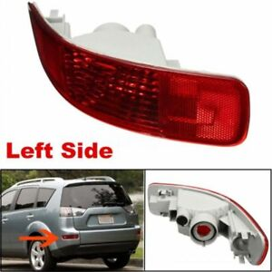 1pc Fit For Mitsubishi Outlander Rear Tail Left Fog Driving Light Lamp 2007 2012