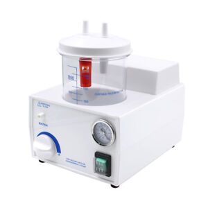 110v Dental Lab Portable Suction Unit Medical Aspirator Vacuum Phlegm