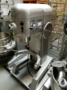 Hobart 60qt Mixer H600t Single Phase 90 Day Warranty s s Bowl Hook Attachment