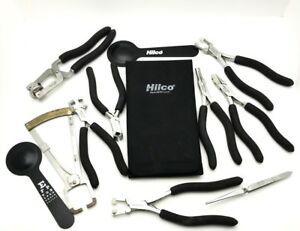 Hilco And Ergo Optical Lab Tool Set With Magnetic Tool Holder