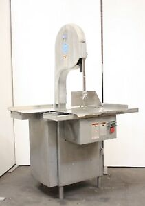 Biro 3334 Commercial Butcher Market Deli Beef Meat Band Saw Slicer