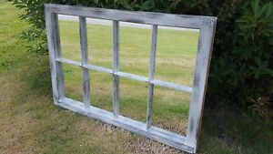 Architectural Salvage 8 Pane Old Window Sash Frame Pinterest 36x20 Mirrors