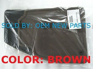 New Gm Oem 2014 2015 Chevy Malibu Carpeted Floor Mats Cocoa 23492682