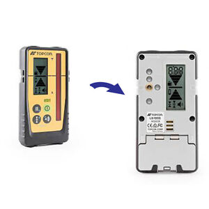 Topcon Ls 100d Digital Rotating Laser Level Detector Without Clamp