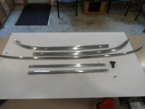 1969 1970 Ford Mustang Mercury Cougar Chrome Windshield Trim Mouldings Moldings